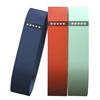 FitBit Large Sport Band Triple Pack for Flex Fitness Tracker - Teal/Navy/Tangerine