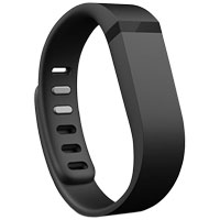 FitBit Small Accessory Band for Flex Fitness Tracker - Black