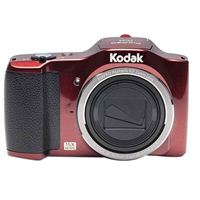 Kodak PIXPRO FZ152 16.2 Megapixel 24mm Wide Angle Lens Digital Camera - Red