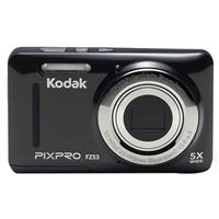 Kodak PIXPRO FZ53 16.1 Megapixel 28mm Wide Angle Lens Digital Camera - Black