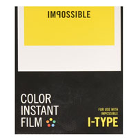 Impossible Color Instant Film for Polaroid I-Type - 8 Pack