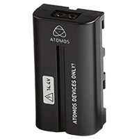 Atomos Spare D-Tap Dummy Battery w/ D-Tap Adapter