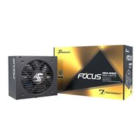 Seasonic USA FOCUS GM-650, 650W 80+ Gold, Semi-Modular, Fits All ATX Systems, Fan Control in Silent and Cooling Mode, 7 Year Warranty, Perfect Power Supply for Gaming and Various Application