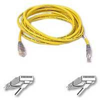 Belkin CAT 5e Crossover Network Cable 3 ft. - Yellow
