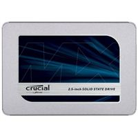 "Crucial MX500 250GB SSD 3D TLC NAND SATA III 6Gb/s 2.5"" Internal Solid State Drive"