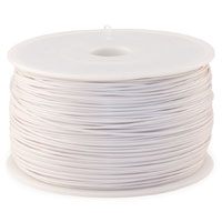 Leapfrog MAXX Economy 1.75mm Tooth White ABS 3D Printer Filament - 1.0kg Spool (2.2 lbs)