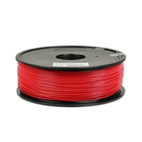 Solidoodle 1.75mm Red ABS 3D Printer Filament - 0.9kg Spool (2.0 lbs)