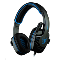 Sades SA-708 Gaming Headset - Blue