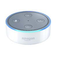 Amazon Echo Dot Smart Speaker, 2nd Generation - White