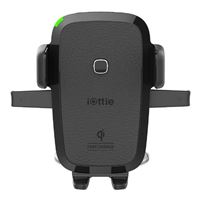 iOttie 1 Touch Adhesive Dashboard/ Windshield Phone Mount w/ Qi Wireless Charging - Black