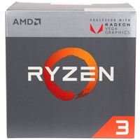 AMD Ryzen 3 2200G Quad Core AM4 Boxed Processor with Wraith Stealth Cooler