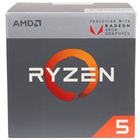 AMD Ryzen 5 2400G Quad Core AM4 Boxed Processor with Wraith Stealth Cooler