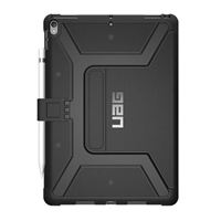 Urban Armor Gear Folio iPad Pro 10.5-inch Metropolis Feather-Light Rugged [BLACK] Military Drop Tested iPad Case