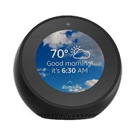 Amazon Echo Spot Smart Speaker - Black