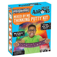 Crazy Aaron Holographic Mixed by Me Thinking Putty Kit