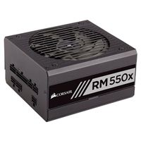 Corsair RM550x 550 Watt 80 Plus Gold ATX Fully Modular Power Supply...