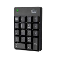 Adesso Wireless 18-Key Numeric Keypad