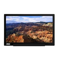 "AOC i1601fwux 15.6"" Full HD 60Hz USB Type-C Portable IPS LED Monitor"
