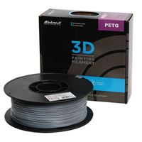 Inland 1.75mm Gray PETG 3D Printer Filament - 1kg Spool (2.2 lbs)