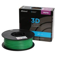 Inland 1.75mm Green PETG 3D Printer Filament - 1kg Spool (2.2 lbs)