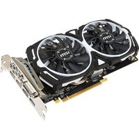 MSI Radeon RX 570 Armor Overclocked Dual-Fan 8GB GDDR5 PCIe 3.0 Graphics Card
