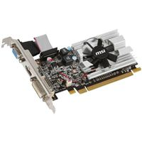 MSI Radeon HD 6450 Low-Profile Single-Fan 1GB DDR3 PCIe Video Card
