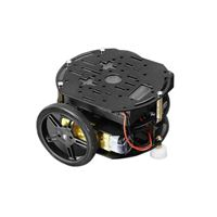 Adafruit Industries Mini 3-Layer Round Robot Chassis Kit - 2WD with DC Motors