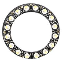 Adafruit Industries NeoPixel 16 x 5050 RGBW LEDs Ring - Natural White