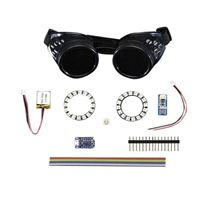 Adafruit Industries Trinket-Powered NeoPixel Goggle Kit Pack