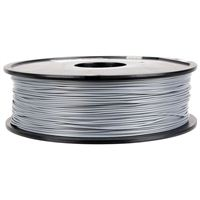 Inland Premium 1.75mm Silver PLA+ 3D Printer Filament - 1kg Spool (2.2 lbs)