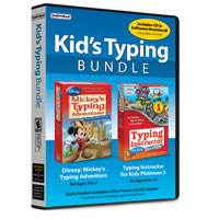 Individual Software Kids Typing Bundle