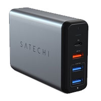 Satechi 75W Multiport Travel Charger Type-C w/ Quick Charge