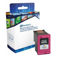 Dataproducts Remanufactured HP 62XL Tri-color Ink Cartridge