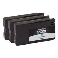 Dataproducts Remanufactured HP 952 Color Ink Cartridge 3-Pack