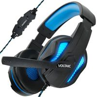 Accessory Power Voltaic PRO 7.1 Surround Sound Gaming Headphones - Black