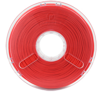 Polymaker PolySmooth 1.75mm Red PVB 3D Printer Filament - 0.75kg Spool (1.6 lbs)
