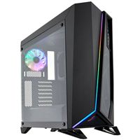 Corsair Carbide Spec-Omega RGB Tempered Glass ATX Mid-Tower Computer Case - Black
