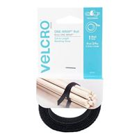 "Velcro One-Wrap Roll 4' x 0.75"" - Black"