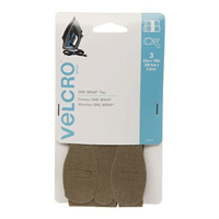 Velcro One-Wrap Ties 3 pack 23 in. x 7/8 in. - Tan