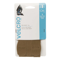 Velcro One-Wrap Ties 3 pack 23 in. x 7/8 in. - Coyote