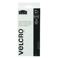 "Velcro Industrial Strength 10 Strips 4"" x 1"" - Titanium Gray"