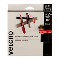 "Velcro Industrial Strength Low Profile 1 Roll 10' x 1"" - Black"