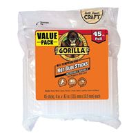 Gorilla Glue Hot Glue Sticks Full Size 45 Count