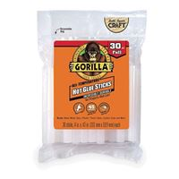 Gorilla Glue Mini Hot Glue Sticks 30 Count