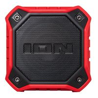 ION Audio DUNK Compact IP67 Waterproof Wireless Speaker - Red