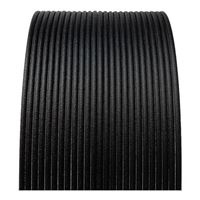 Proto-Pasta 1.75mm Black Matte Fiber HTPLA 3D Printer Filament - 0.5kg Spool (1.1 lbs)