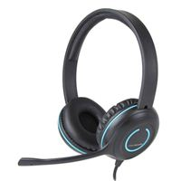 Cyber Acoustics USB Stereo Headset - Black