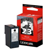 Lexmark 23 Black Return Program Ink Cartridge