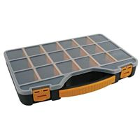 "Velleman 13"" Storage Box - Black"