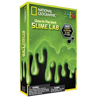 Discover with Dr. Cool National Geographic Slime Science Kit - Glow-in-the-Dark Green